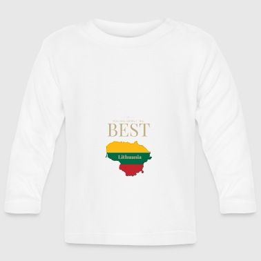 Lithuania is simply the best - Baby Long Sleeve T-Shirt