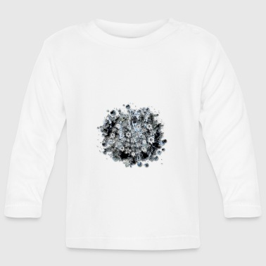 floral grunge - Baby Long Sleeve T-Shirt