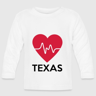 Texas Heart - Camiseta manga larga bebé