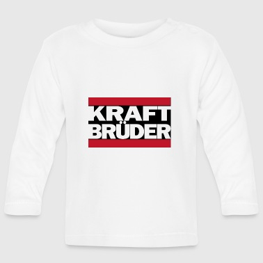 Kraftbrueder_black - Baby Long Sleeve T-Shirt