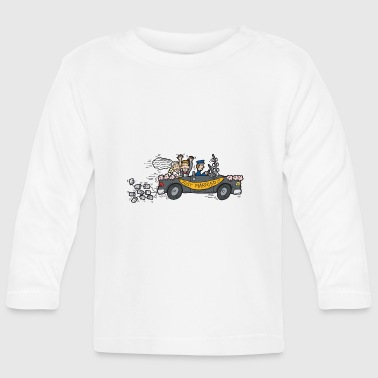 Just Married Honeymoon - Baby Long Sleeve T-Shirt