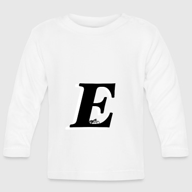 E alphabet - Baby Long Sleeve T-Shirt