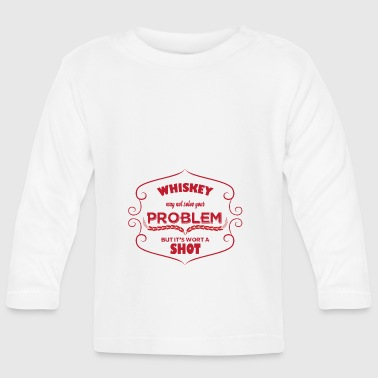 Whiskey - Whiskey may not solve your Problem... - Baby Langarmshirt