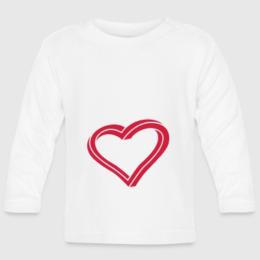 Twisted Heart - Langærmet babyshirt