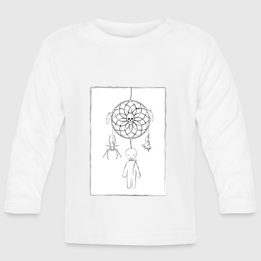 Scary dreamcatcher - Baby Long Sleeve T-Shirt