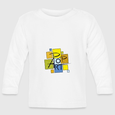 square pop art - Baby Long Sleeve T-Shirt