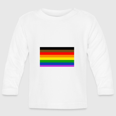 lgbt + flag - Baby Long Sleeve T-Shirt