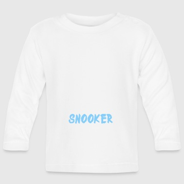 Snooker Dad - Baby Long Sleeve T-Shirt