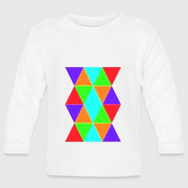 Colourful pattern - Baby Long Sleeve T-Shirt