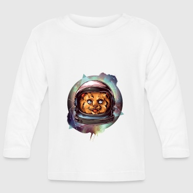 CAT DRAWN COMIC DIERTENTE - Baby Long Sleeve T-Shirt