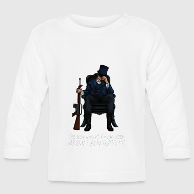 MrBlue's New World - Baby Long Sleeve T-Shirt