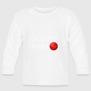 Occupy March Space - Baby Long Sleeve T-Shirt