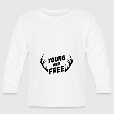 Young and Free - Baby Long Sleeve T-Shirt