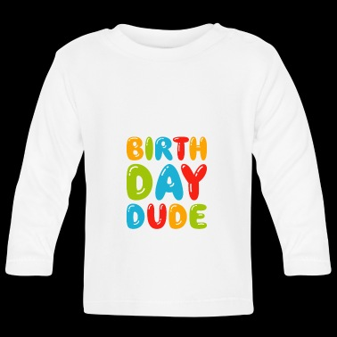 Birthday Dude Tee - Awesome Birthday Boy Party - T-shirt