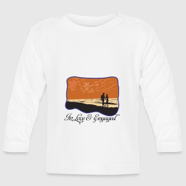 Engaged In Love - Baby Long Sleeve T-Shirt