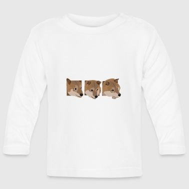 Curious dogs - Baby Long Sleeve T-Shirt