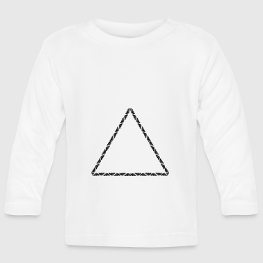 triangle - Baby Long Sleeve T-Shirt