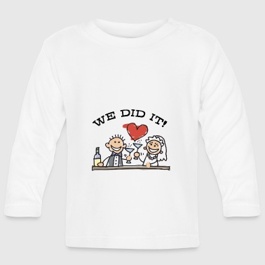 Just Married We Did It - T-shirt