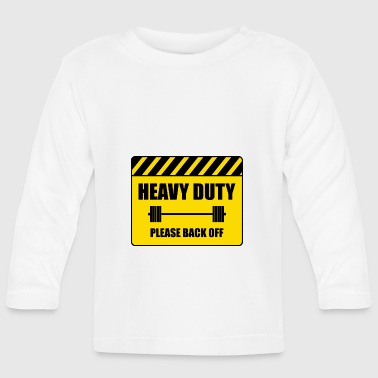 Attention, heavy - Baby Long Sleeve T-Shirt