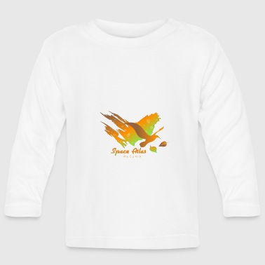 Space Atlas Long Shirt utslags Autumn Leaves - Långärmad T-shirt baby