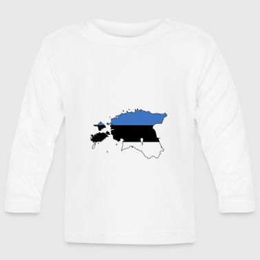 estonia - Baby Long Sleeve T-Shirt