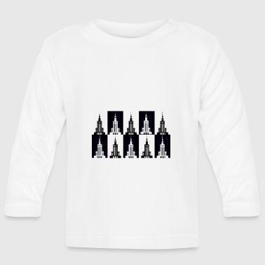Palace of Culture and Science in Warsaw - Baby Long Sleeve T-Shirt