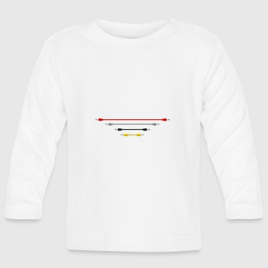 DD's Classic Cables - Baby Long Sleeve T-Shirt