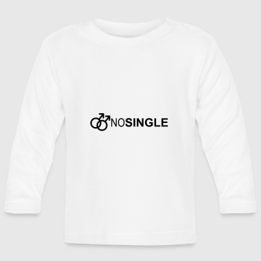 NO SINGLE - T-shirt manches longues Bébé