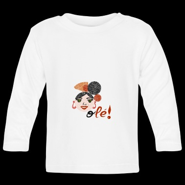Flamenco and OLEE !! - Baby Long Sleeve T-Shirt