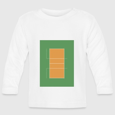volleyball-court - Baby Long Sleeve T-Shirt