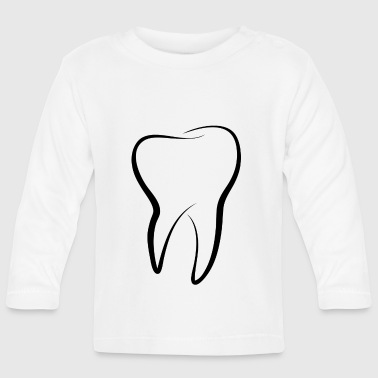 tooth - Baby Long Sleeve T-Shirt