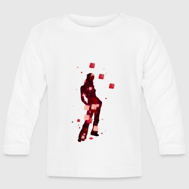 pixel mania - Baby Long Sleeve T-Shirt