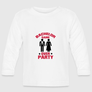 GAME OVER! (BACHELOR JGA PARTY) - Baby Langarmshirt