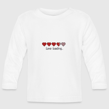 Download heart love Bags & Backpacks - Baby Long Sleeve T-Shirt