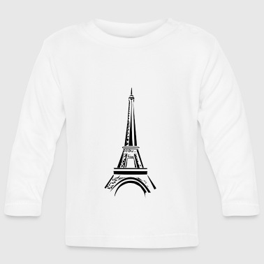 Eiffel tower - Baby Long Sleeve T-Shirt