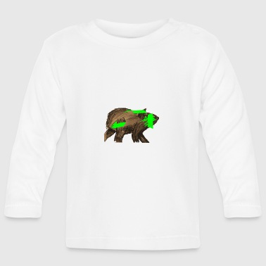 beaver - Baby Long Sleeve T-Shirt