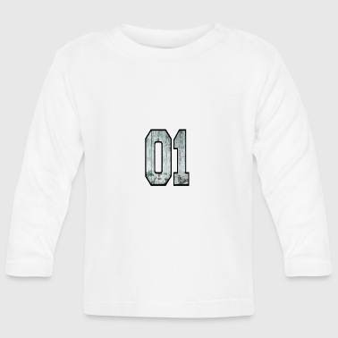 number one - Baby Long Sleeve T-Shirt