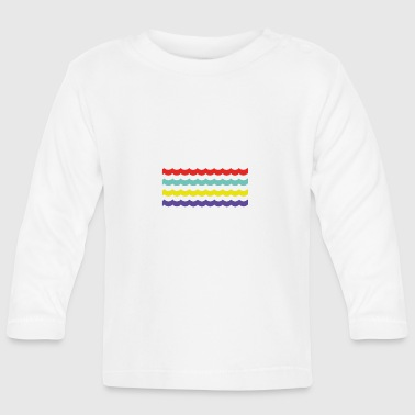 Colour Waves - Baby Long Sleeve T-Shirt