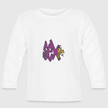 sex graffiti - Baby Long Sleeve T-Shirt