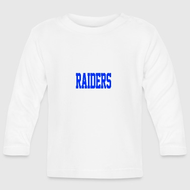 Stevens Raiders with horse - Baby Long Sleeve T-Shirt
