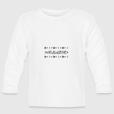 Hippie / Hippies: Nomadic - Camiseta manga larga bebé