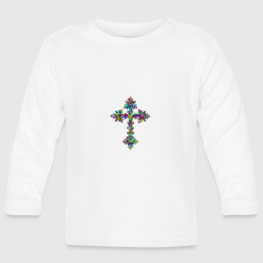 Colourful cross - Baby Long Sleeve T-Shirt