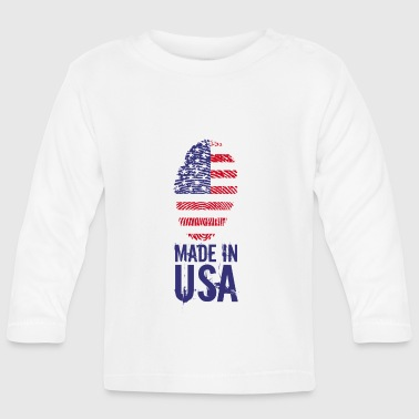 Made in USA / Made in USA Amérique - T-shirt manches longues Bébé