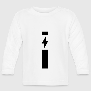 Lightning with strip - Baby Long Sleeve T-Shirt