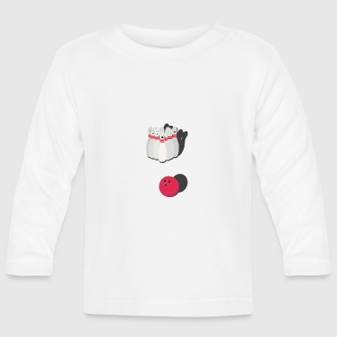 Bowling with bowling ball - Baby Long Sleeve T-Shirt