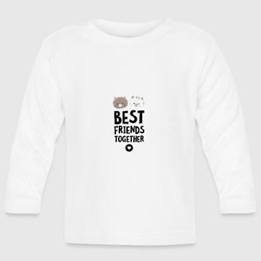 Cats Best friends Heart S7hn3 - Baby Long Sleeve T-Shirt