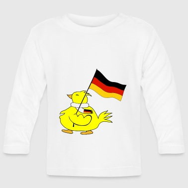 Deutschland Flagge duh9 - Baby Long Sleeve T-Shirt