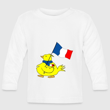 France Drapeau fae9 - Baby Long Sleeve T-Shirt