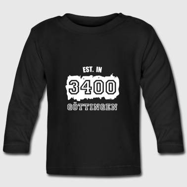 Established 3400 Göttingen - Baby Langarmshirt