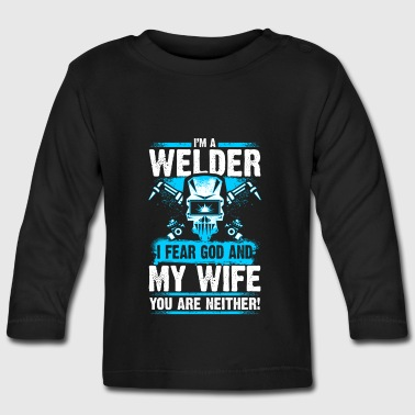 I'm a Welder - Welder - EN - Baby Long Sleeve T-Shirt